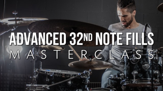Advanced 32nd Note Fills Masterclass