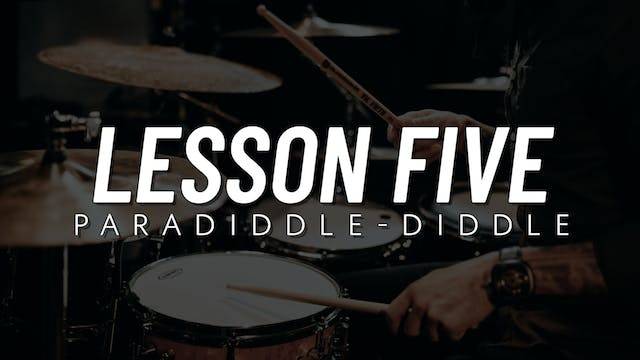 Rudiment Survival Guide | Lesson 5
