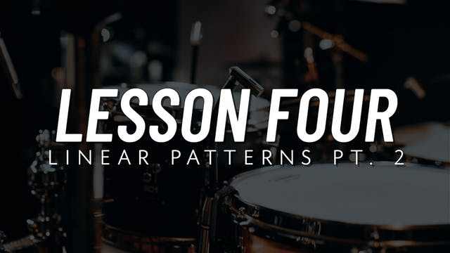 Drum Fill Fundamentals | Lesson 4