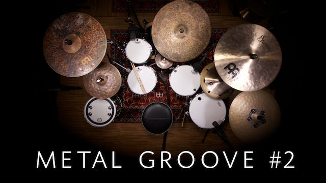 Metal Groove 2 | Single Lesson