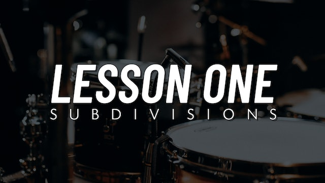 Drum Fill Fundamentals | Lesson 1