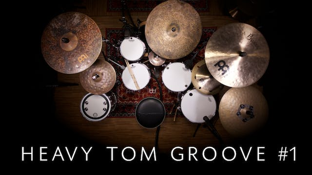 Heavy Tom Groove 1 - Single Lesson