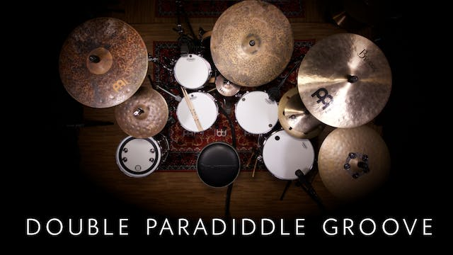 Double Paradiddle Groove | Single Lesson