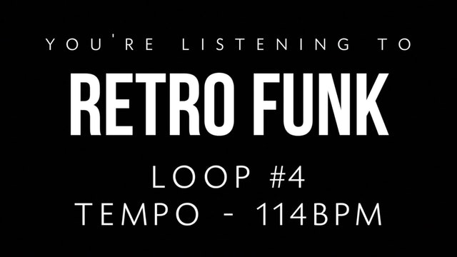 Retro Funk Loop 4