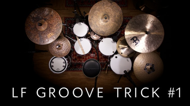 Left Foot Groove Trick #1 | Single Lesson