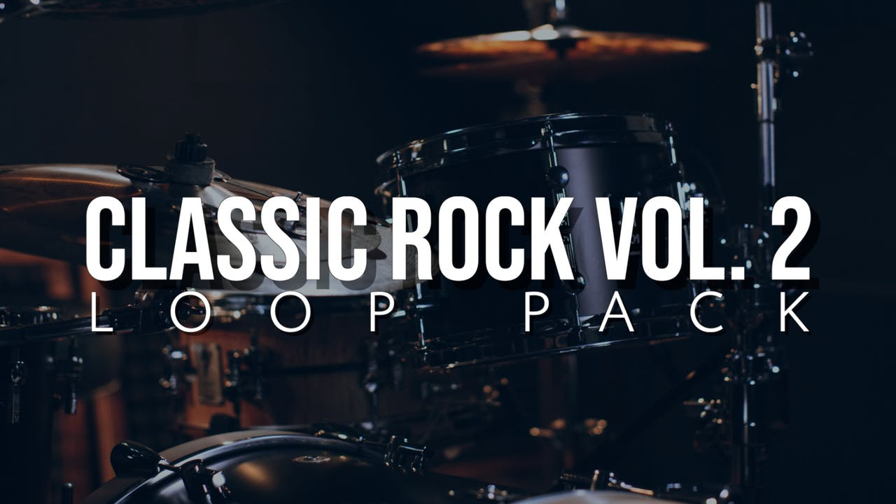 Classic Rock Volume 2 Loop Pack