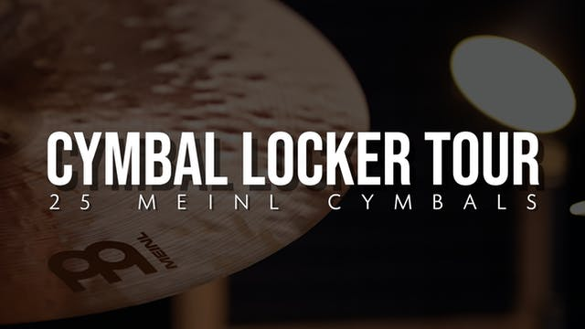 Cymbal Locker Tour