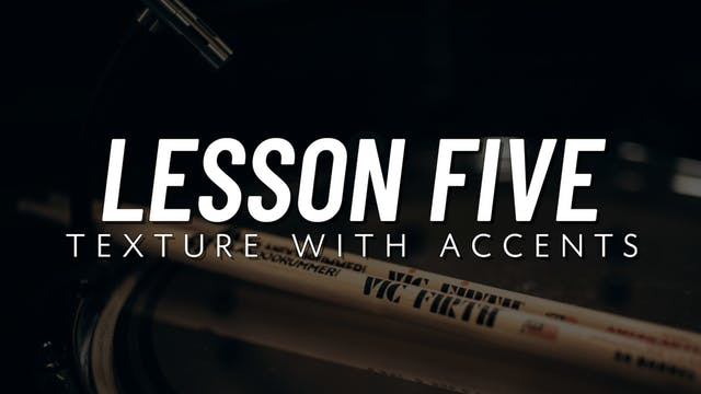 Advanced Groove | Lesson 5