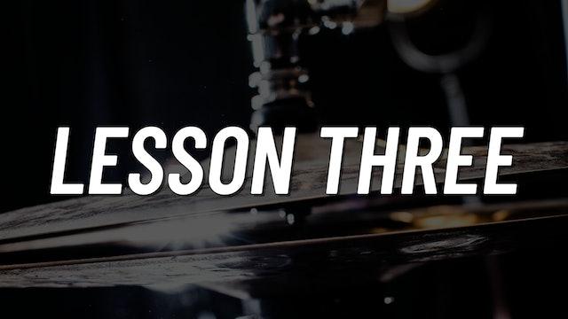 Advanced Gospel | Lesson 3