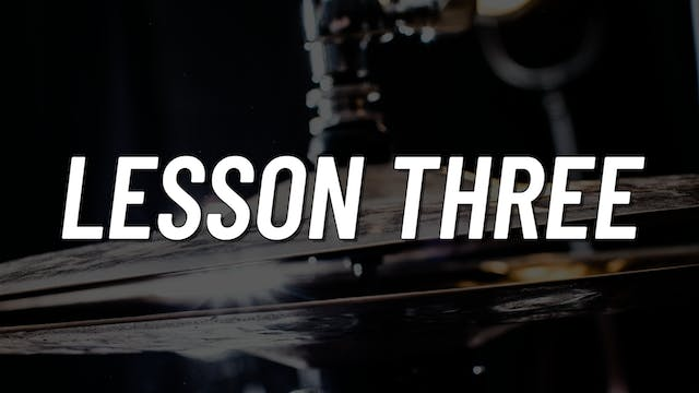 Advanced Gospel | Lesson 3