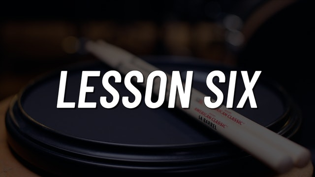 Practice Pad Boot Camp | Lesson 6