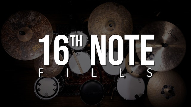 Quick 16th Note Fills