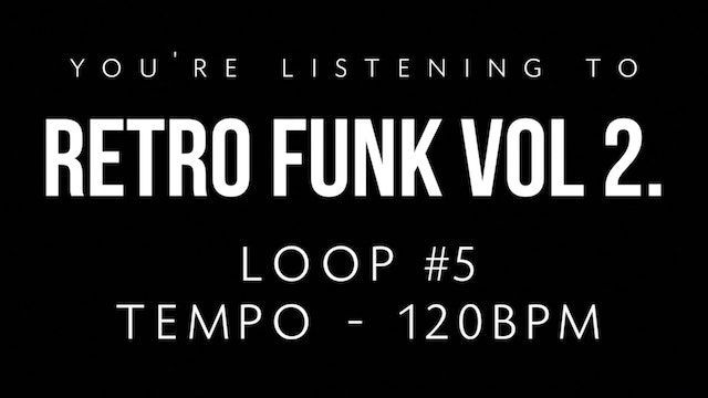 Retro Funk Pack Vol. 2 - Loop 5