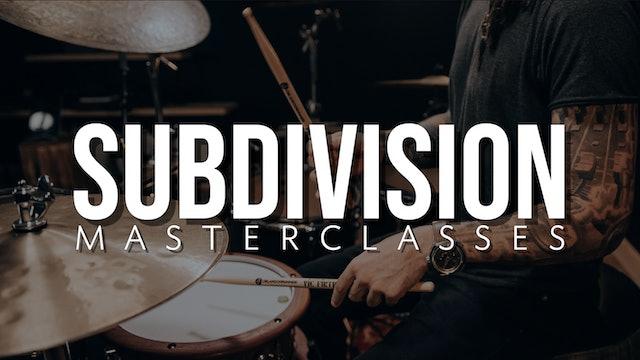 Subdivision Masterclasses