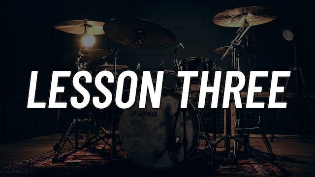 Drum Set Control Boot Camp | Lesson 3