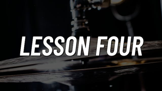 Advanced Gospel | Lesson 4