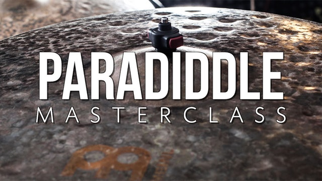 Paradiddle 101 Masterclass