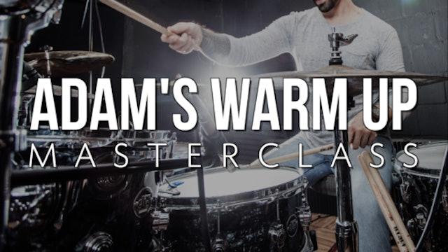 Warm Up Masterclass