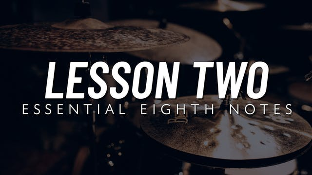 Basic Groove | Lesson 2