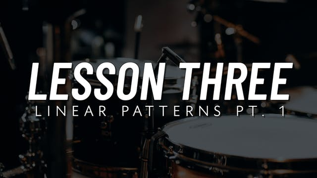 Drum Fill Fundamentals | Lesson 3