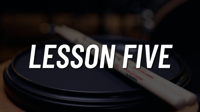 Practice Pad Boot Camp | Lesson 5