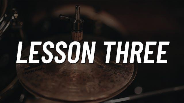 Flam Chop | Lesson 3