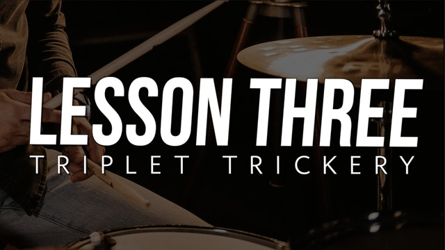Rudiment Boot Camp - Lesson 3