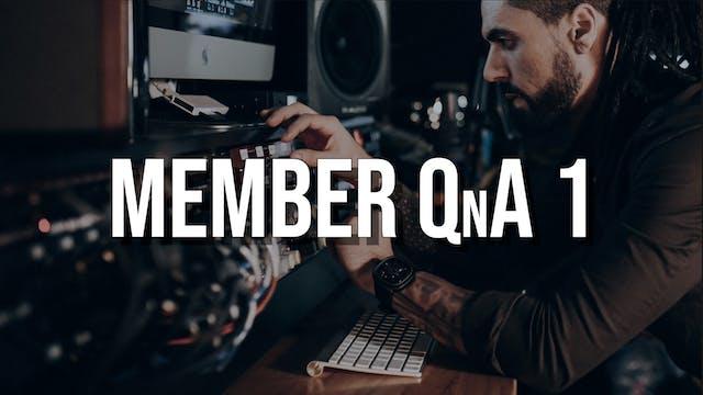 Member QnA #1