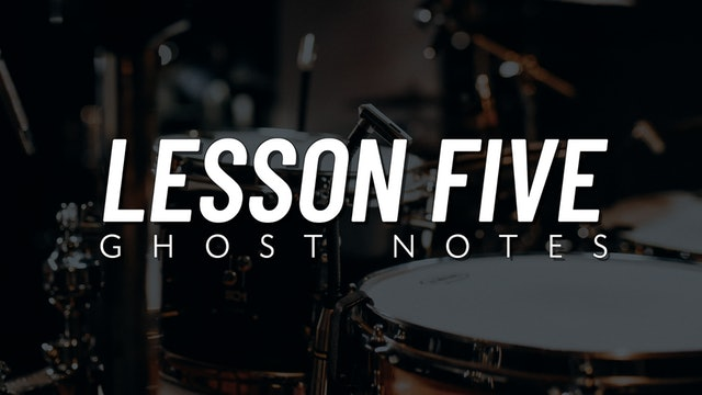 Drum Fill Fundamentals | Lesson 5