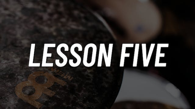 Paradiddle Voicing | Lesson 5