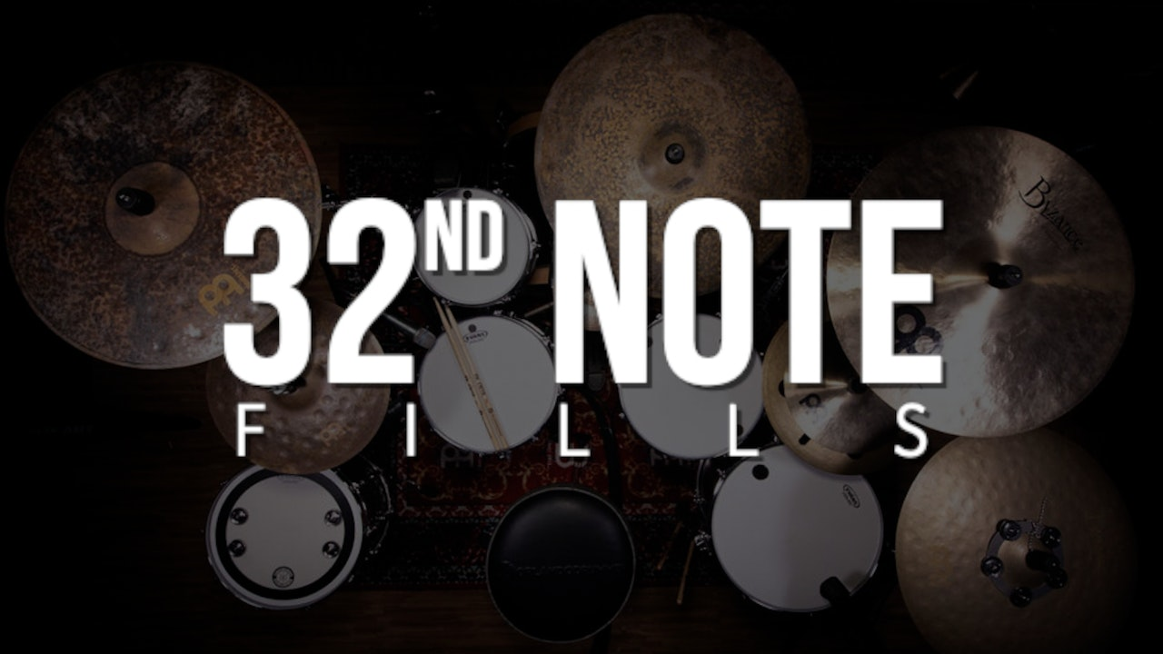 Quick 32nd Note Fills