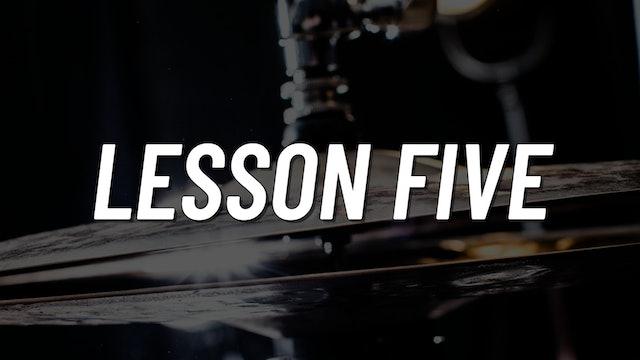 Advanced Gospel | Lesson 5