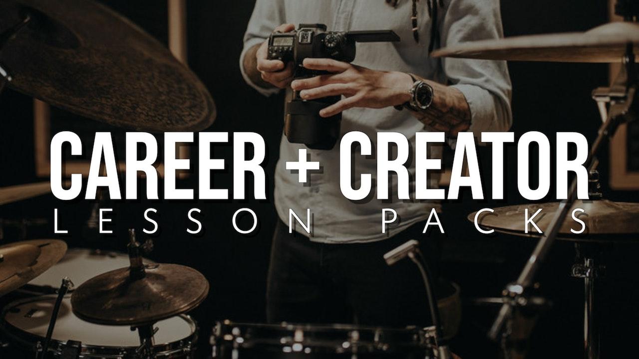 Career & Creator Lesson Packs