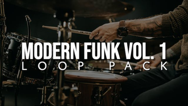 Modern Funk Volume 1 Loop Pack