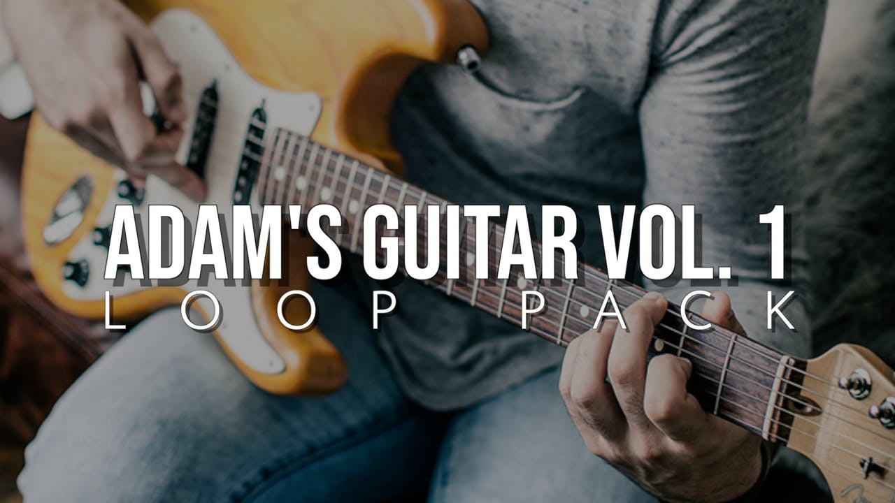 Adam's Guitar Volume 1 Loop Pack