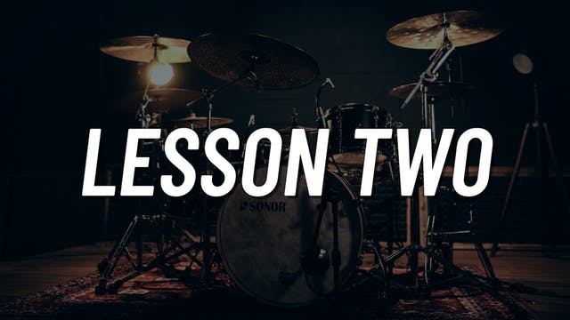 Drum Set Control Boot Camp | Lesson 2