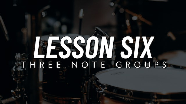 Drum Fill Fundamentals | Lesson 6