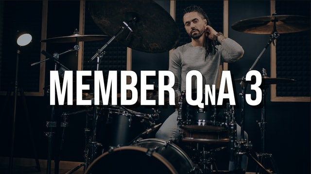 Member QnA #3
