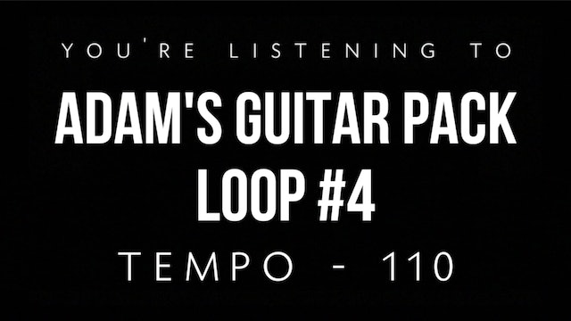 Adam's Guitar Pack Loop #4