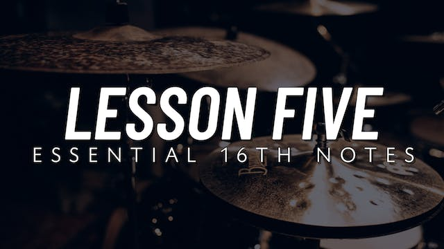 Basic Groove | Lesson 5