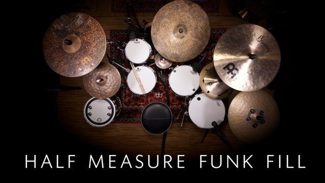 Half Measure Funk Fill | Single Lesson