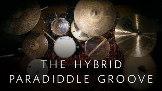 Hybrid Paradiddle Groove | Single Lesson
