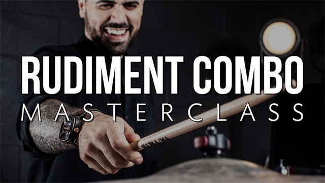Rudiment Combo Masterclass