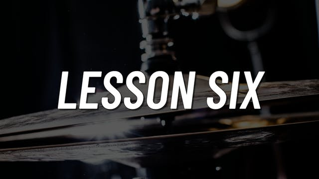 Advanced Gospel | Lesson 6
