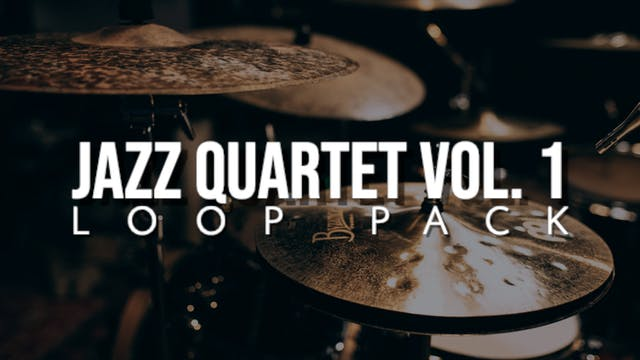 Jazz Quartet Volume 1 Loop Pack