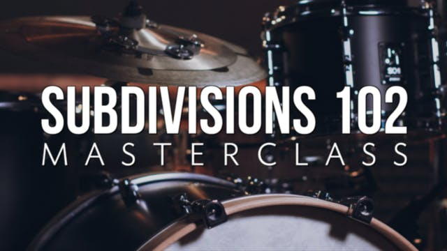 Subdivisions 102 Masterclass