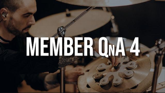 Member QnA #4