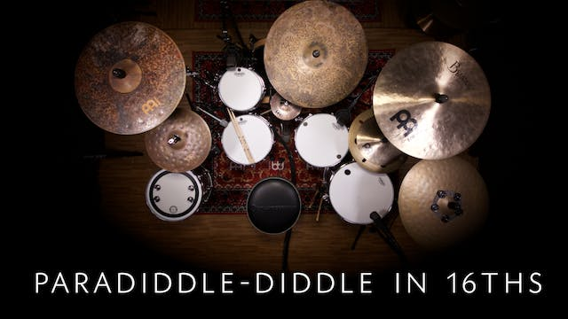 Paradiddle- Diddle in 16th Notes | Si...