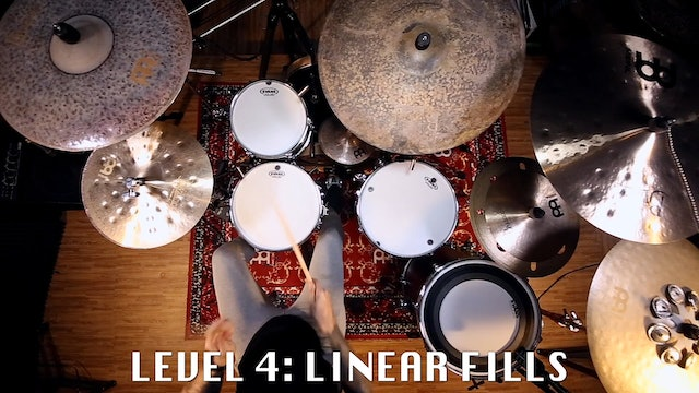 10 LEVELS OF DRUMMING