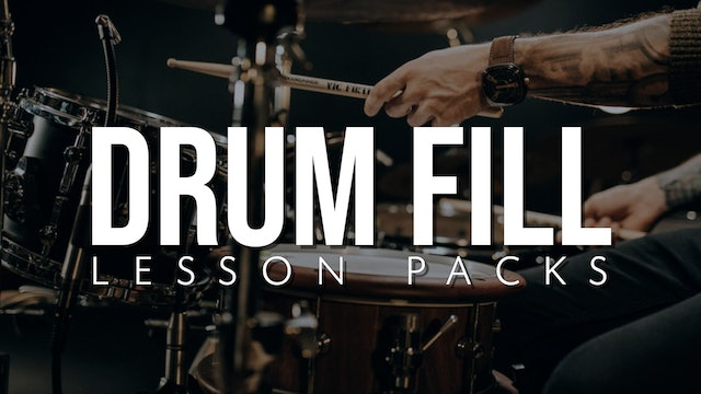 Drum Fill Lesson Packs